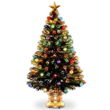 National Tree Company 4-ft. Multicolor Fiber-Optic Artificial Christmas Tree Floor Decor