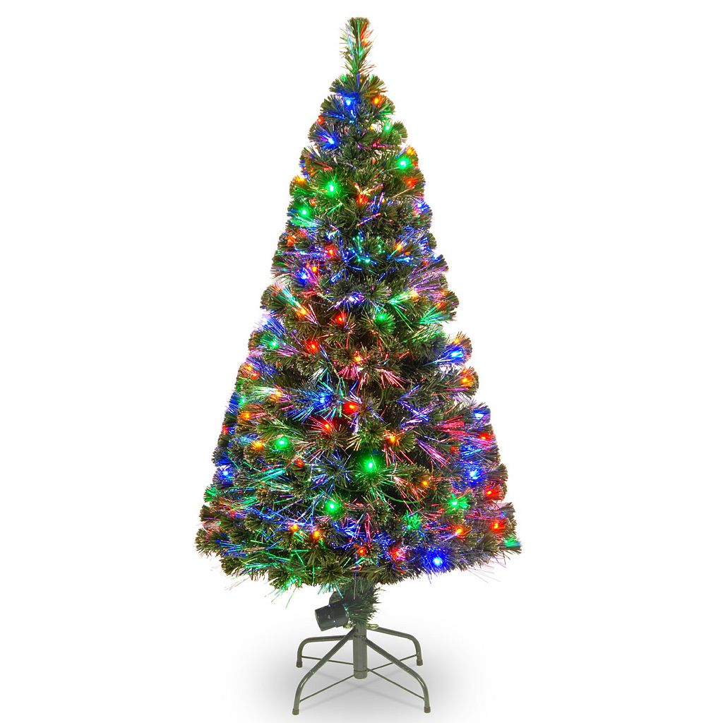 National Tree Company 60-in. Fiber Optic Evergreen Artificial Christmas Tree