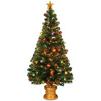 National Tree Company 5-ft. Fiber-Optic Artificial Christmas Tree Floor Decor