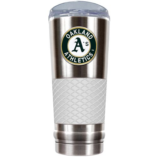 Oakland Athletics 24-Ounce Draft Stainless Steel Tumbler