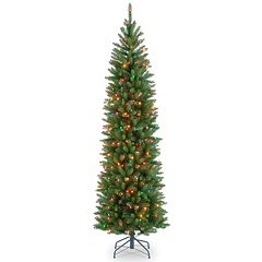 National Tree Company 7.5-ft. Kingswood Fir Hinged Pre-Lit Artificial Christmas Tree