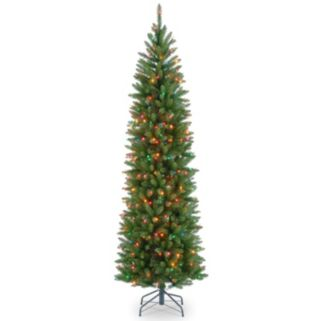 National Tree Company 7.5-ft. Kingswood Fir Hinged Pre-Lit Artificial Christmas Tree