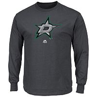Men's Majestic Dallas Stars Raise the Level Long-Sleeve Tee