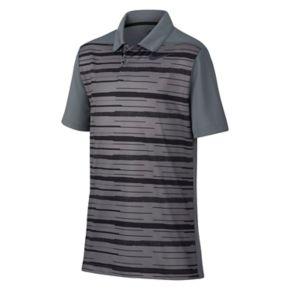 Boys 8-20 Nike Striped Golf Polo