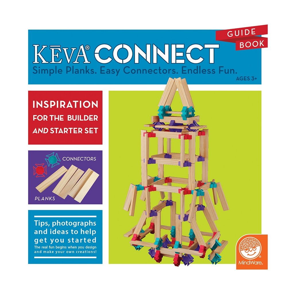 KEVA Connect Builder Set by MindWare