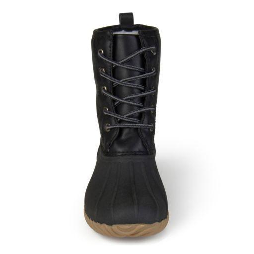 Journee Dreena Girls' Water-Resistant Duck Boots