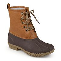 Journee Dreena Girls' Water-Resistant Duck Boots