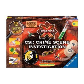 Science X Midi CSI: Crime Scene Investigation Kit by Ravensburger