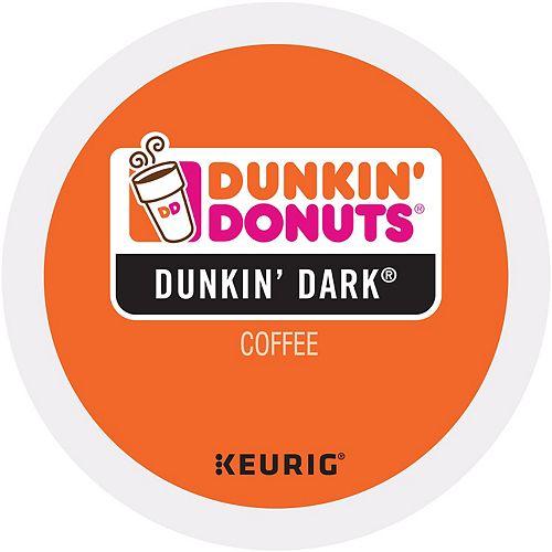 Keurig® K-Cup® Portion Pack Dunkin' Donuts Dunkin' Dark Coffee - 16-pk.