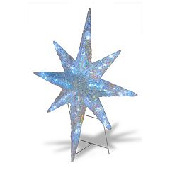 National Tree Company 42-in. Pre-Lit Shimmer Star Indoor / Outdoor Decor