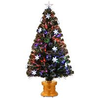 National Tree Company 48-in. Fiber Optic Fireworks Snowflake Artificial Christmas Tree
