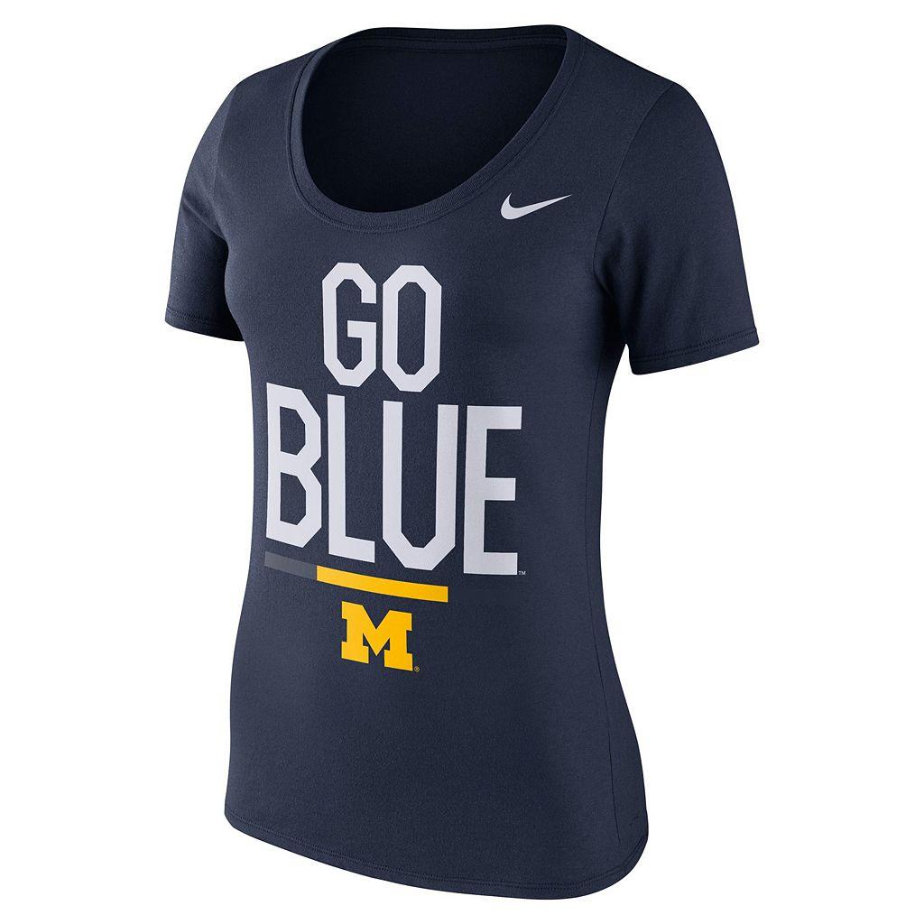 Women's Nike Michigan Wolverines Local Spirit Tee