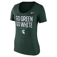 Women's Nike Michigan State Spartans Local Spirit Tee