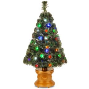 National Tree Company 36-in. Fiber Optic Artificial Christmas Tree