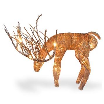 National Tree Company Drinking Reindeer Christmas Table Decor