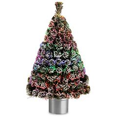 National Tree Company 48-in. Fiber Optic Evergreen Artificial Christmas Tree