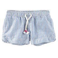 Toddler Girl OshKosh B'gosh® Striped Linen-Blend Shorts