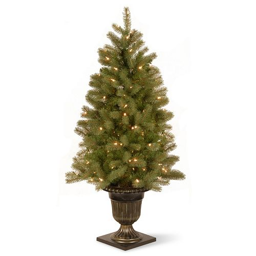 national tree company 4 ft douglas fir entrance pre lit artificial christmas tree