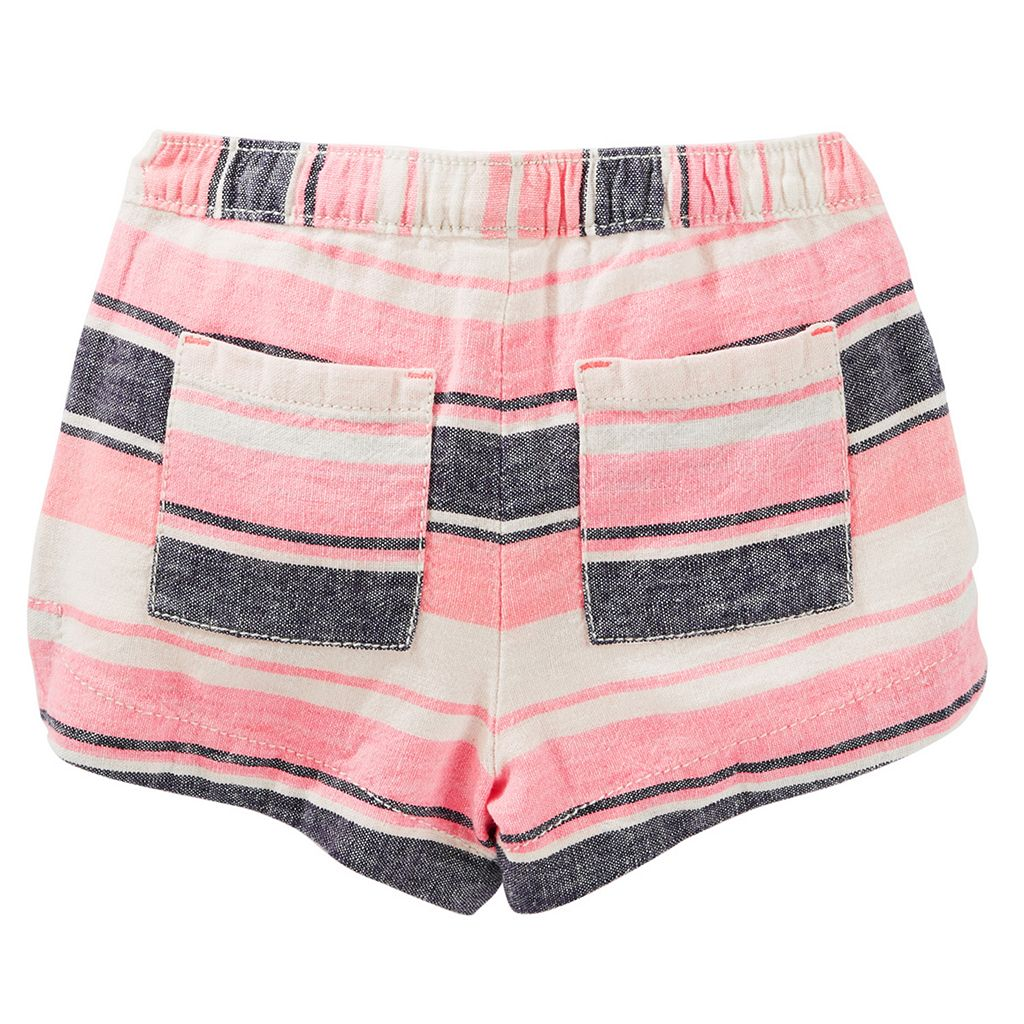 Toddler Girl OshKosh B'gosh® Striped Pattern Shorts