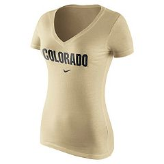 Women's Nike Colorado Buffaloes Wordmark Tee