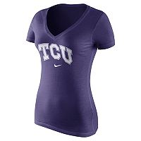 Women's Nike TCU Horned Frogs Wordmark Tee