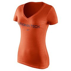 Women's Nike Virginia Tech Hokies Wordmark Tee