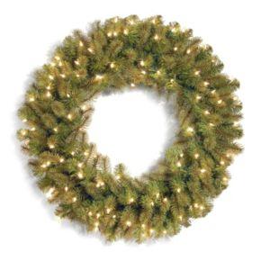 National Tree Company 36-in. Pre-Lit Douglas Fir Artificial Christmas Wreath