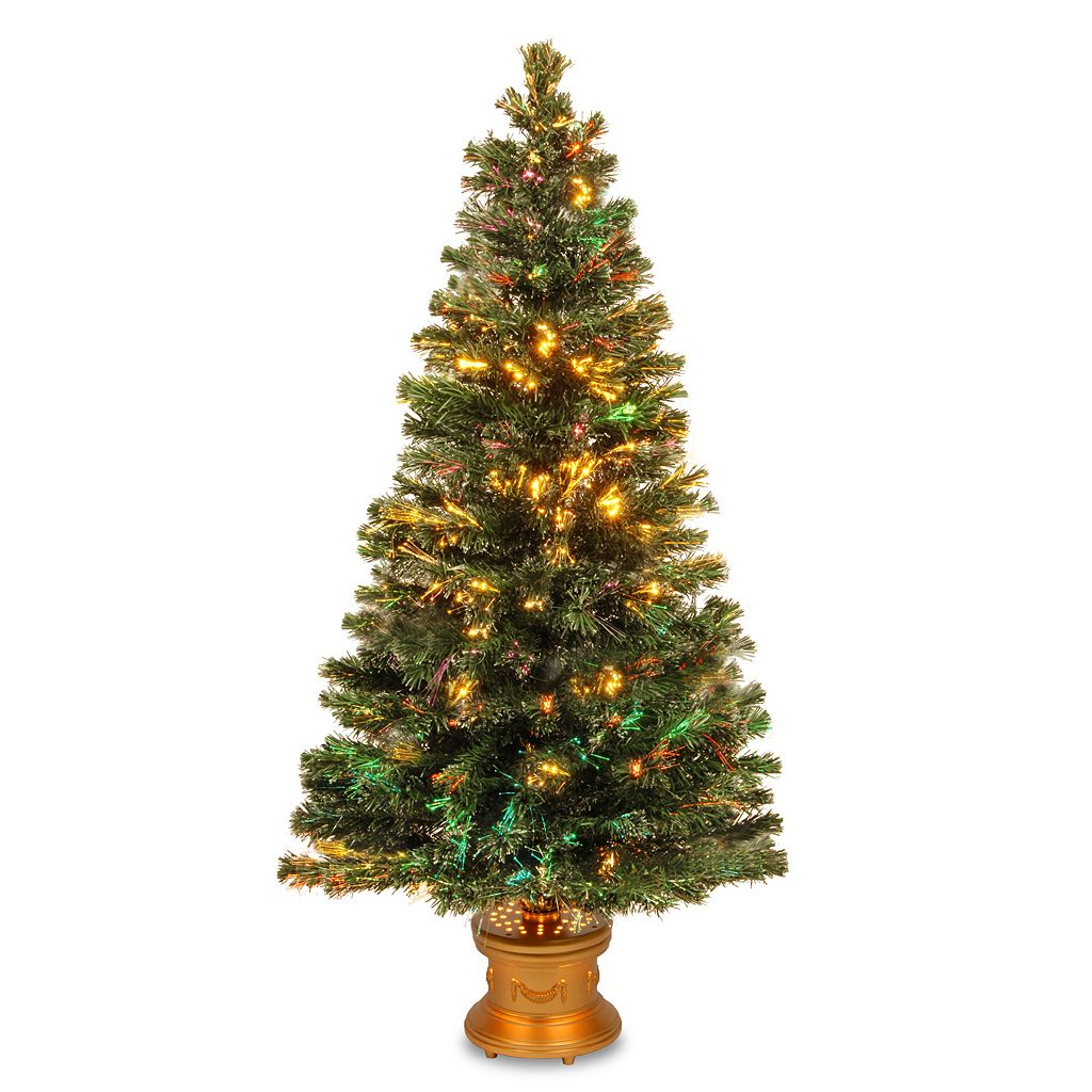 National Tree Company 60-in. Fiber Optic Evergreen Firework Artificial Christmas Tree
