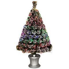 National Tree Company 36-in. Fiber Optic Evergreen Artificial Christmas Tree