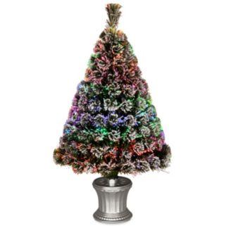 National Tree Company 36-in. Fiber Optic Evergreen Artificial Christmas Tree