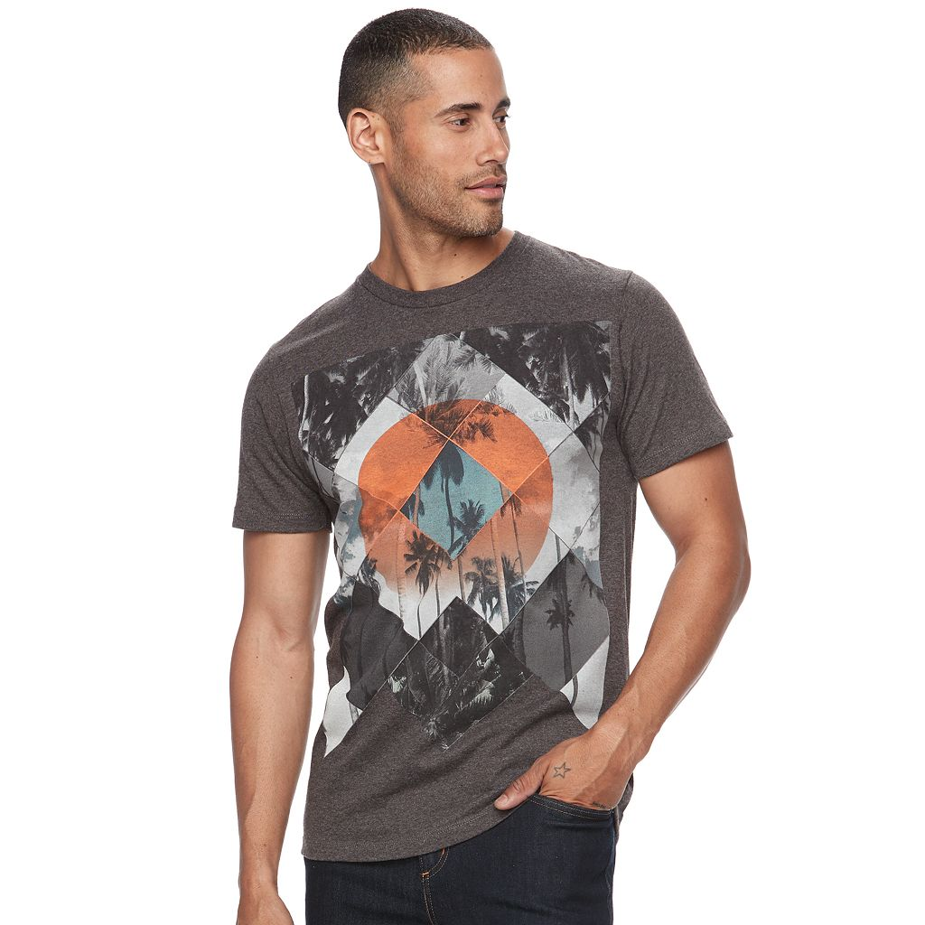 Men's Apt. 9® Classic-Fit Tropical-Inspired Tee