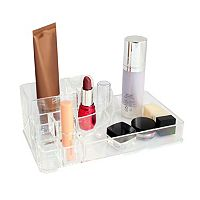 Home Basics 9-Compartment Cosmetic Organizer