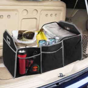 Home Basics Foldable Trunk Organizer & Cooler