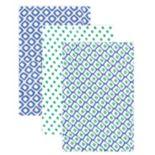 Hudson Baby 3-pk. Blue Muslin Swaddle Blankets