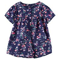Toddler Girl OshKosh B'gosh® Button Front Floral Blouse Top