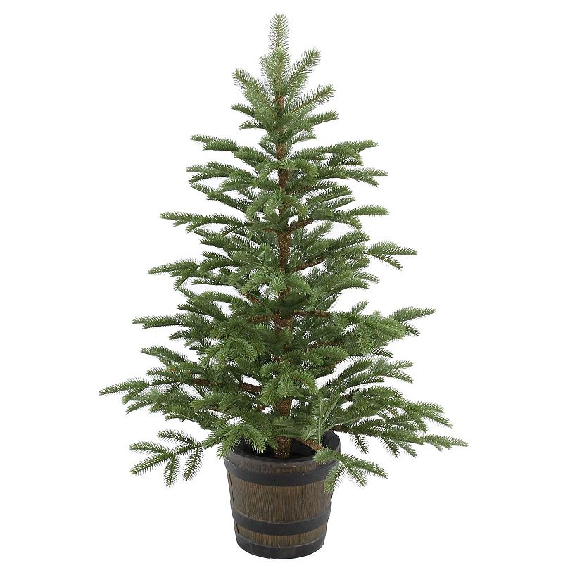 National Tree Company 4-ft. Artificial Norwegian Spruce Porch Tree, Green
