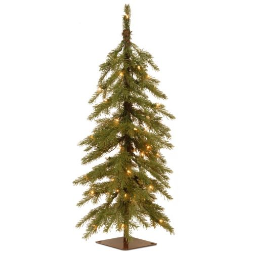 National Tree Company 3-ft. Pre-Lit Artificial Nordic Spruce Cedar Christmas Tree