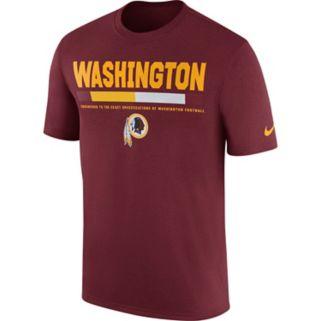 Men's Nike Washington Redskins Legend Staff Tee