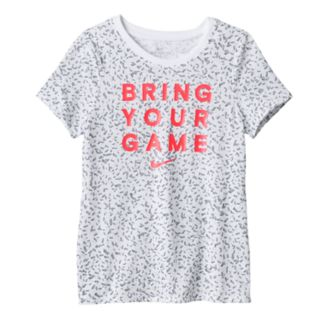 "Girls 7-16 Nike Dri-FIT ""Bring Your Game"" Tee"