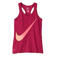 Girls 7-16 Nike Dri-FIT Ombre Swoosh Graphic Racerback Tank Top