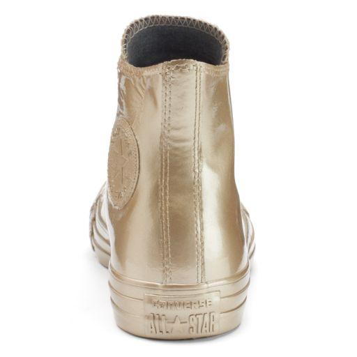 Women's Converse Chuck Taylor All Star Metallic Rubber High-Top Sneakers