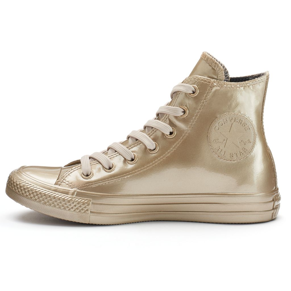 Women's Converse Chuck Taylor All Star Metallic Rubber High-Top Sneakers