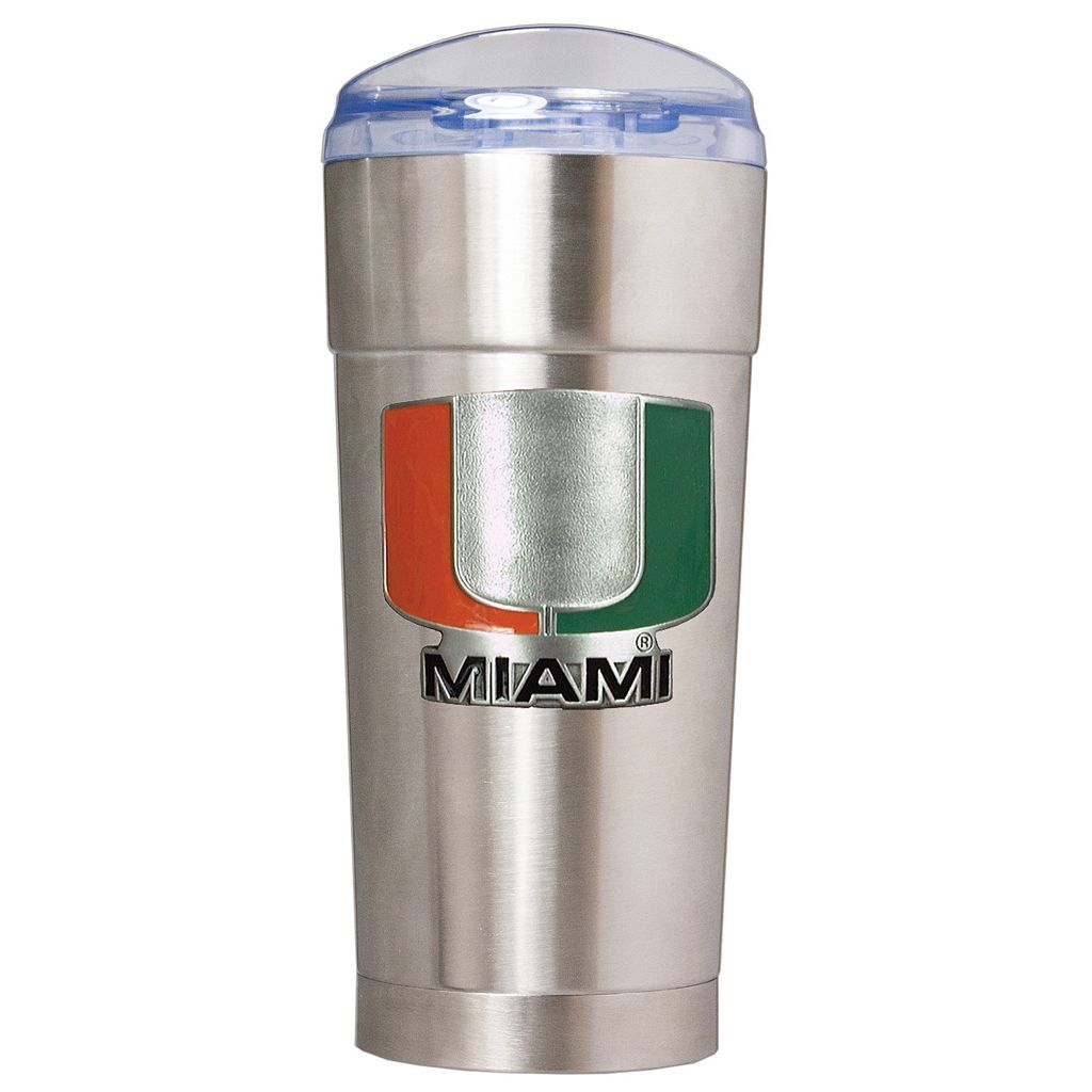 Miami Hurricanes Eagle Tumbler