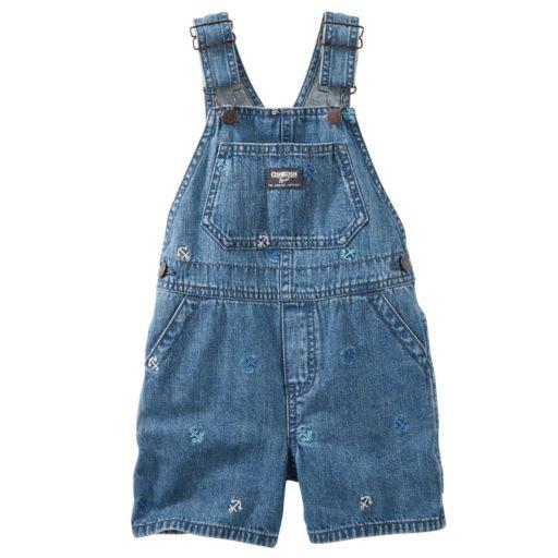 Baby Boy OshKosh B'gosh® Anchor Denim Shortalls