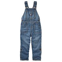 Toddler Boy OshKosh B'gosh® Roll-Tab Denim Overalls
