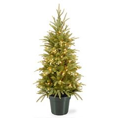 National Tree Company 4-ft. Pre-Lit Artificial Weeping Spruce Christmas Tree