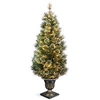 National Tree Company 5-ft. Pre-Lit Artificial Wispy Willow Porch Tree