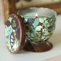 WoodWick Gallerie White Willow Moss 8.5-oz. Candle Tin