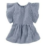 Toddler Girl OshKosh B'gosh® Gingham Flutter Top