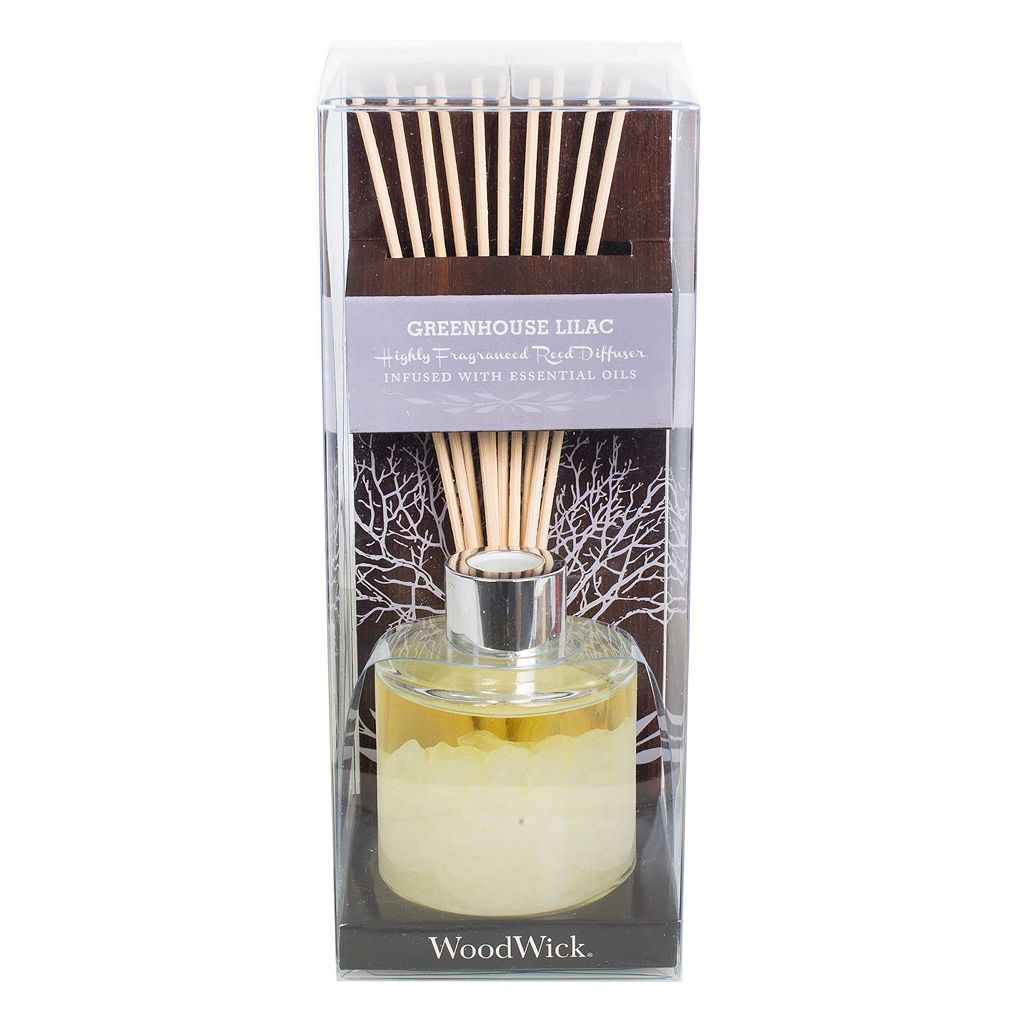 WoodWick Greenhouse Lilac Reed Diffuser 10-piece Set